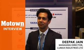 Deepak Jain at the 2017 57th SIAM Annual Convention , Managing Director, Lumax Industries Ltd.