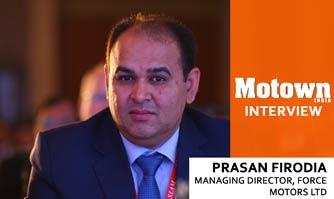 Prasan Firodia at 2017 57th SIAM Annual Convention, Managing Director, Force Motors Ltd.