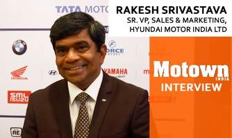 Rakesh Srivastava at the 2017 57th SIAM Annual Convention , Sr. VP Sales & Marketing, Hyundai Motor India Ltd.