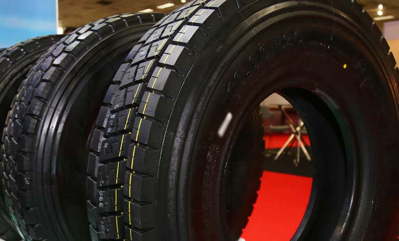 Picture of tyres; Pic for representation purpose only