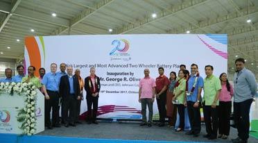 Amara Raja commissions 17 million capacity battery plant in AP