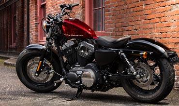 Harley-Davidson branding on Michelin tyres