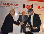 Sandhar inks tech collaboration with Jinyoung