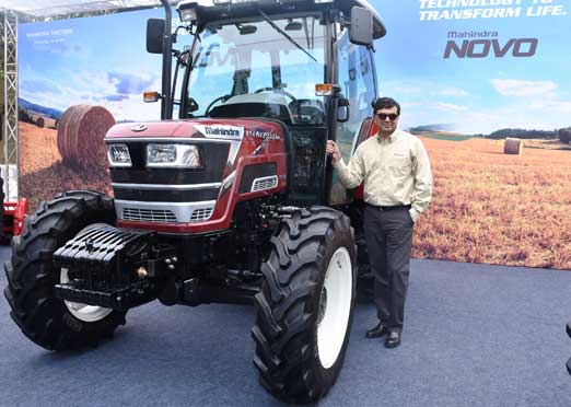 Mahindra launches Novo 65 HP & 75 HP tractors