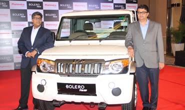 Mahindra launches the all new big Bolero pik-up for Rs 6.30 lakh