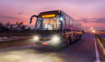 Volvo showcases new Coach Bus range at Busworld 2016