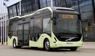 Volvo's first electric bus now on the roads of Gothenburg