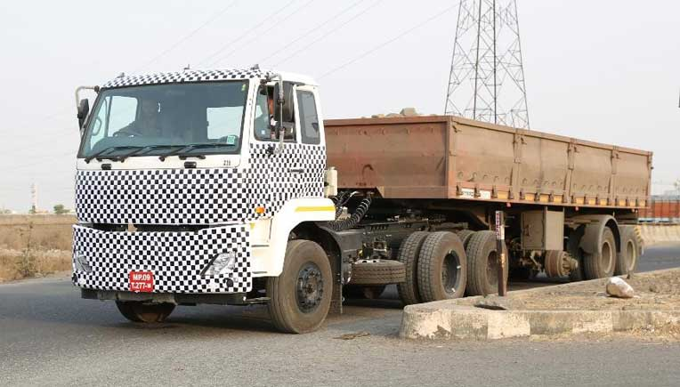 The new heavy duty truck from Volvo Eicher