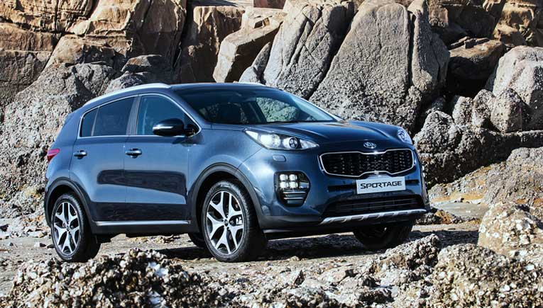Kia Sportage; Picture for representation purpose only