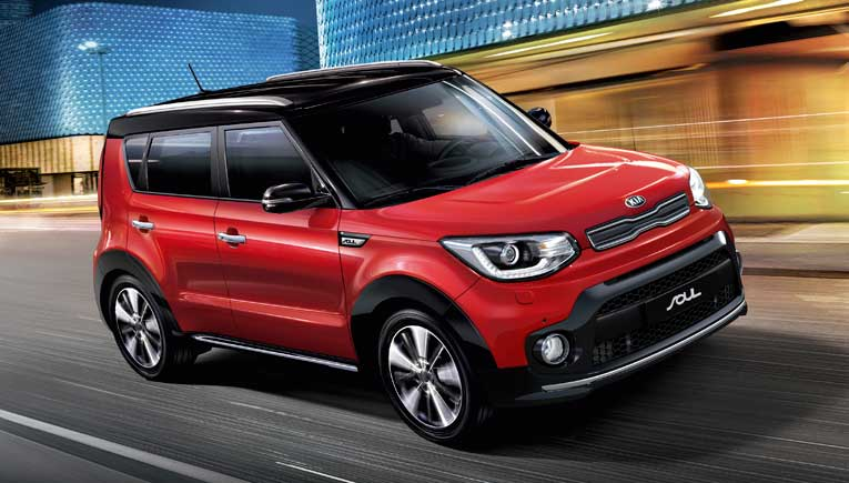 Kia Soul; Picture for representation purpose only
