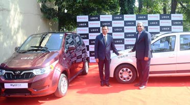 Mahindra, Uber join hands to deploy electric vehicles