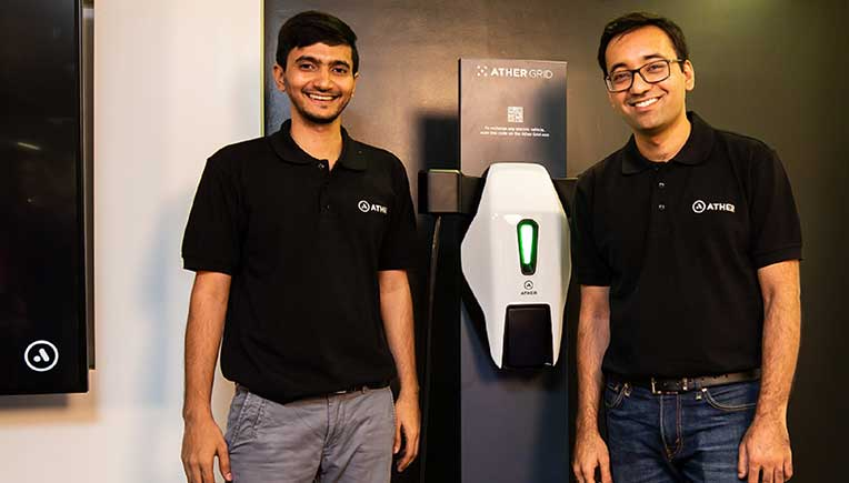 Ather Energy launches largest charging infrastructure network in an Indian city