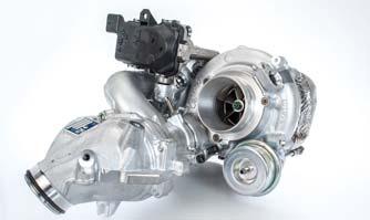 BorgWarner R2S turbocharging technology boosts engine performance