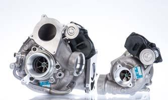 BorgWarner unveils R2S turbocharging system with 2 VTG turbochargers