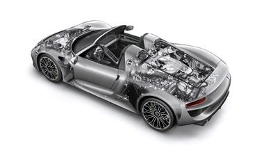Bosch drive systems for Porsche hybrid models