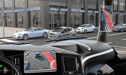Continental develops digital rear-view mirror without split screen