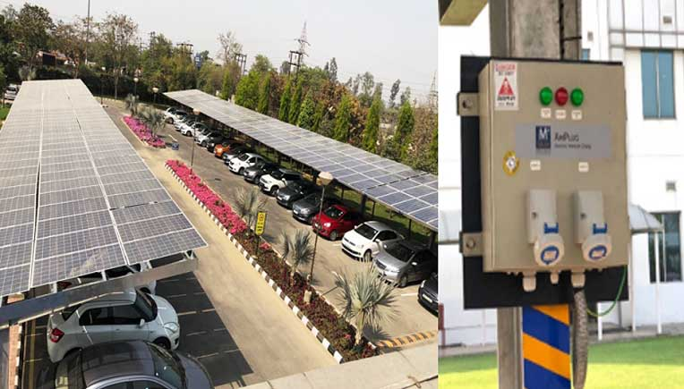Yamaha commissions 1100 KW solar power plant at Chennai facility