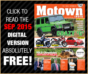 MOTOWN INDIA SEPTEMBER 2015 ISSUE