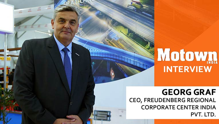 Georg Graf, CEO, Freudenberg Regional Corporate Center India Pvt Ltd