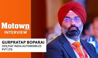 Gurpratap Boparai at 2017 57th SIAM Annual Convention, CEO, Fiat India Automobiles Pvt. Ltd.