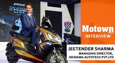 Jeetender Shrma, Managing Director, Okinawa Autotech Pvt Ltd