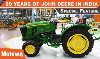 John Deere completes 20 years in India | Motown India, Special Feature