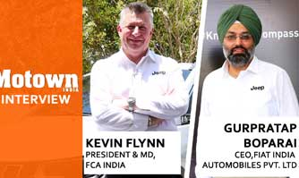 Kevin Flynn and Gurpratap Boparai, President & Managing Director, FCA India / CEO, Fiat India Automobiles Pvt Ltd.