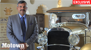 Madan Mohan, Father of the 21 Gun Salute Vintage Car Rally
