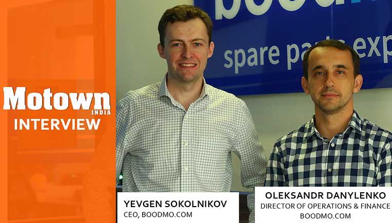Oleksandr Danylenko & Yevgen Sokolniko, Top management of Boodmo.com