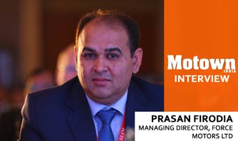 Prasan Firodia at 2017 57th SIAM Annual Convention, Managing Director, Force Motors Ltd.
