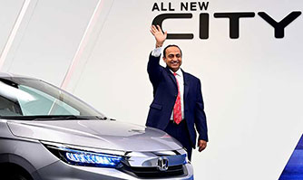 Rajesh Goel, Sr. Vice President & Director, Marketing & Sales, Honda Cars India