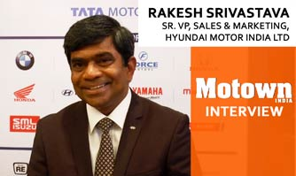 Rakesh Srivastava at the 2017 57th SIAM Annual Convention , Sr. VP Sales & Marketing, Hyundai Motor India Ltd.