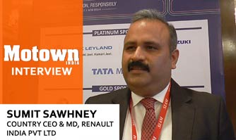 Sumit Sawhney at 2017 57th SIAM Annual Convention, Country CEO & MD, Renault India Pvt. Ltd.