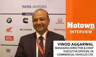 Vinod Aggarwal at 2017 57th SIAM Annual Convention, MD & CEO, VE Commercial Vehicles Ltd.
