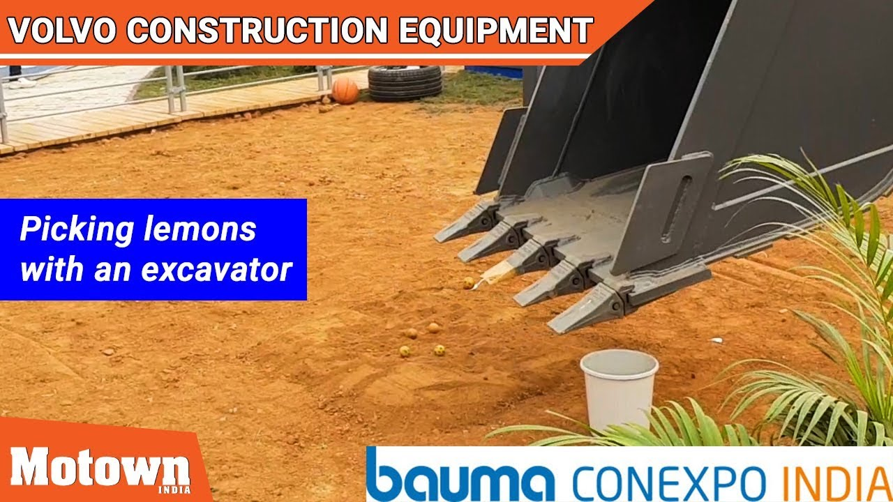 Volvo Construction Equipment | Bauma Conexpo 2018 | Motown India, Special Feature