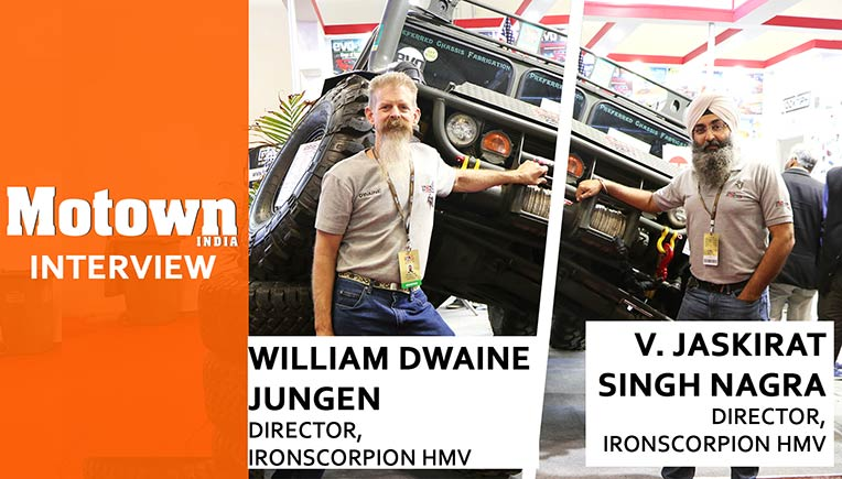 William Dwaine Jungen and  V.Jaskirat Singh Nagra, Directors, IronScorpion HMV