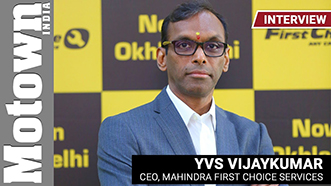 YVS Vijaykumar, CEO, Mahindra First Choice Services