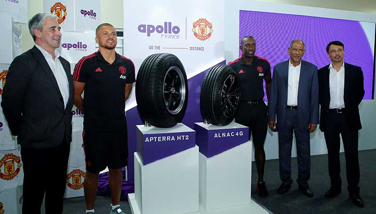 Apollo Tyres expands range of Manchester United branded tyres