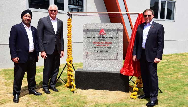 Axalta Inaugurates new coating manufacturing facility in Gujarat