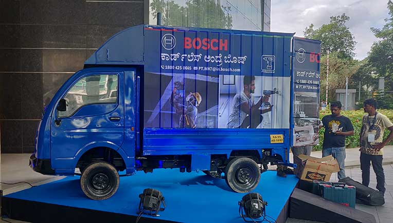 Bosch vans unveil power of cordless