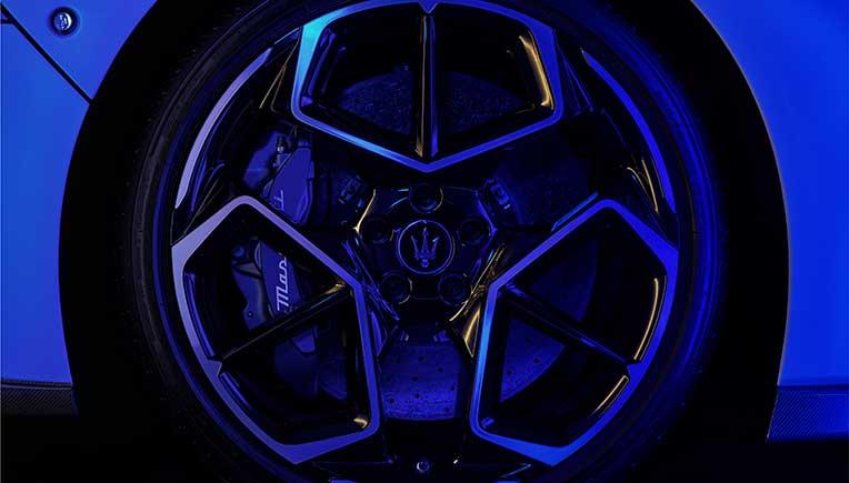 Bridgestone custom built Potenza tyres for Maserati MC20
