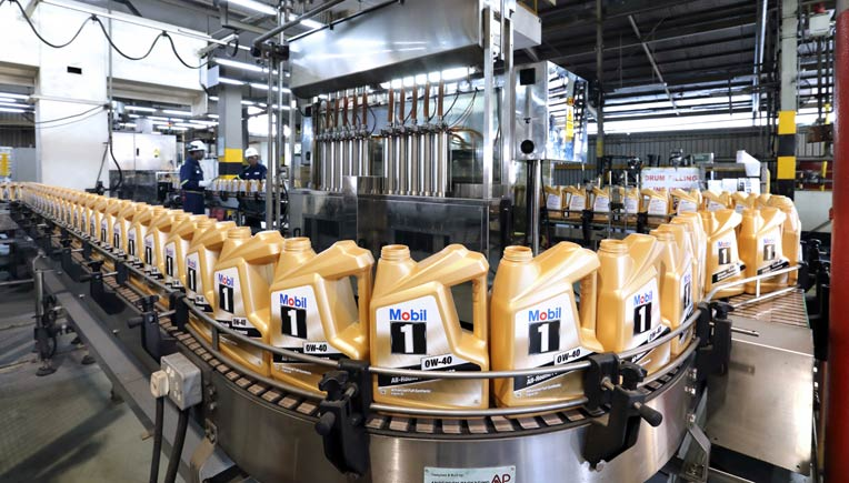 Lubricants plant in Singapore