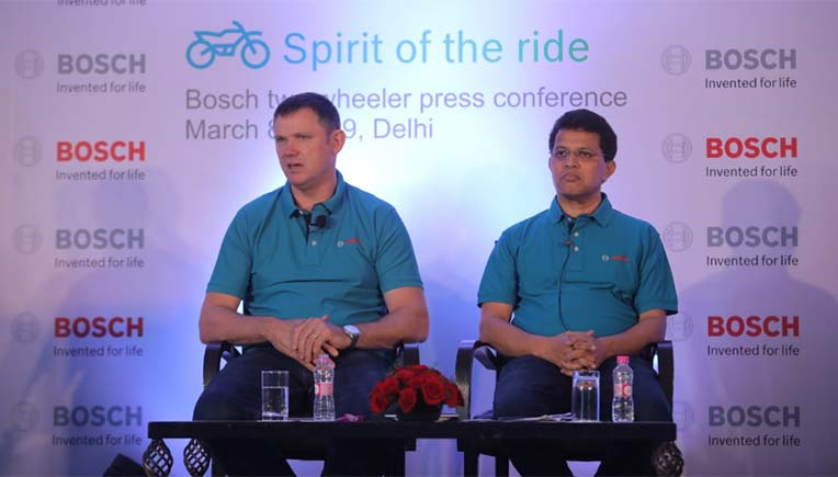 Bosch Two-Wheeler & Powersports Business Unit to benefit from India growth story