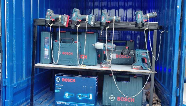 Bosch vans unveil power of cordless