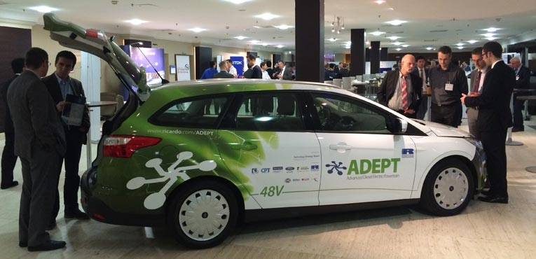 European auto industry embracing 48v hybrids
