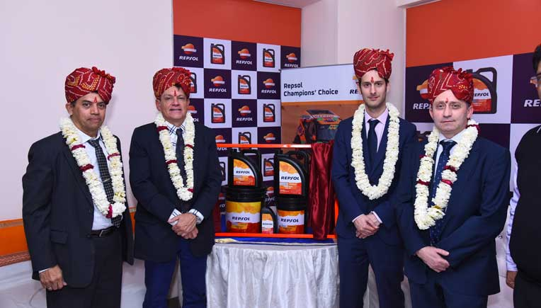 gp petroleums launches  repsol diesel engine oil  india