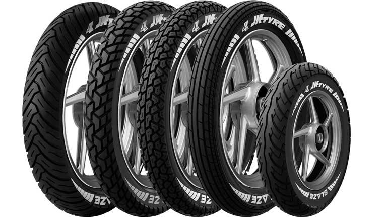 Blaze tyres from JK Tyre