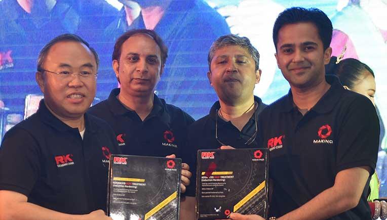 Makino Automotive, RK Takasago launch hi-performance motorcycle chain