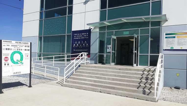 Mexico plant, pic courtesy Bombardier