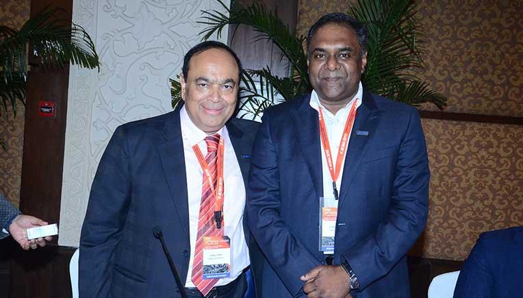 New President of ACMA Ram Venkataramani with outgoing President NK Minda